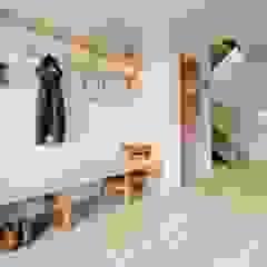 Treasure House, Polzeath | Cornwall Rustic style corridor, hallway & stairs by Perfect Stays Rustic