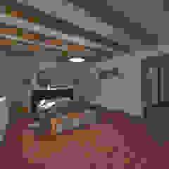 Casa de Campo en Jayanca Dormitorios de estilo rústico de ROQA.7 ARQUITECTURA Y PAISAJE Rústico Madera Acabado en madera