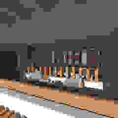 Casa de Campo en Jayanca Balcones y terrazas rústicos de ROQA.7 ARQUITECTURA Y PAISAJE Rústico Madera Acabado en madera