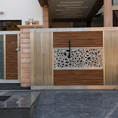 Modern houses by RAVI - NUPUR ARCHITECTS Modern ایلومینیم / زنک