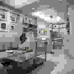 Town home renovation โดย The guidelines design studio สแกนดิเนเวียน ไม้ Wood effect