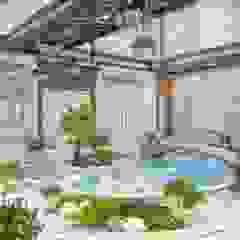 Hồ bơi phong cách Địa Trung Hải bởi Luxury Antonovich Design Địa Trung Hải