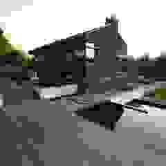 Terras Moderne tuinen van GroenerGras Hoveniers Amsterdam Modern