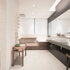 Aureus Modern bathroom by Sensearchitects Limited Modern Stone