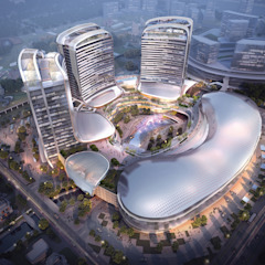 A Handful of Cultural Experiences by Architecture by Aedas Modern