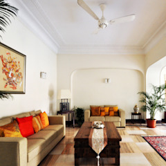 Livings de estilo colonial de Dhruva Samal & Associates Colonial