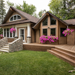 Manning Cottage Country style house by Unit 7 Architecture Country