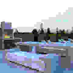 Distone Балкони, веранди & тераси Меблі Камінь