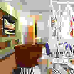 Aires de Contrastes Dormitorios eclécticos de Íntegra Arquitectura Ecléctico