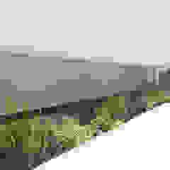 横浜緑区の家 モダンな庭 の (有)ハートランド モダン