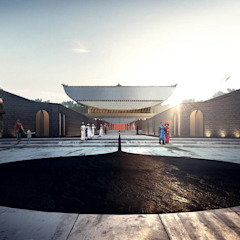 by Architects Tract Asian Concrete