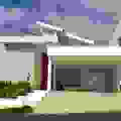 Minimalistische Häuser von Paula Ferro Arquitetura Minimalistisch