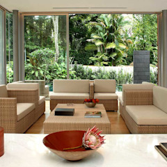 WHITEHOUSE PARK Asian style living room by HB Design Pte Ltd Asian