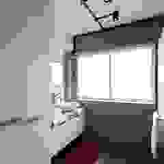 Modern Scandinavian HDB Apartment Modern bathroom by HMG Design Studio Modern Tiles