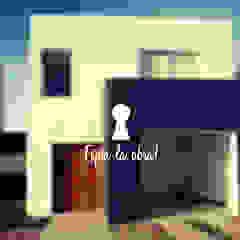 Vivienda Unifamiliar JCA Puertas y ventanas modernas de Melina Remondino - Arquitecta Moderno Ladrillos