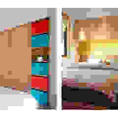 Dormitorios de estilo escandinavo de 一葉藍朵設計家飾所 A Lentil Design Escandinavo