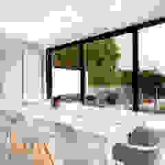 Discreet Speakers in ceiling Link It Solutions Ltd Modern Dining Room