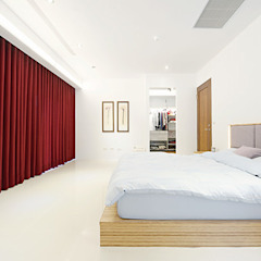 Chambre originale par Unicorn Design Éclectique