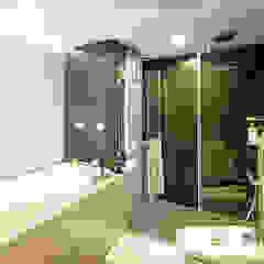 Salle de bain originale par Unicorn Design Éclectique