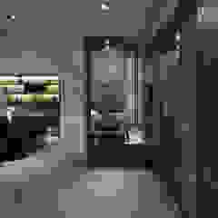 Hành lang, sảnh & cầu thang phong cách hiện đại bởi 大荷室內裝修設計工程有限公司 Hiện đại
