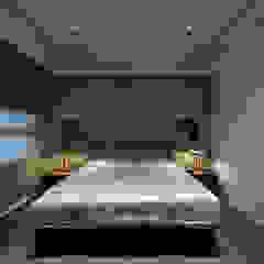 Phòng ngủ phong cách hiện đại bởi 大荷室內裝修設計工程有限公司 Hiện đại
