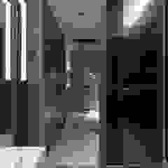 工作空間的最大值 大荷室內裝修設計工程有限公司 現代浴室設計點子、靈感&圖片