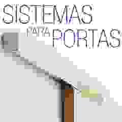 Trilhos - Sistema Externo para portas de correr Portas e janelas minimalistas por Door&Space Minimalista