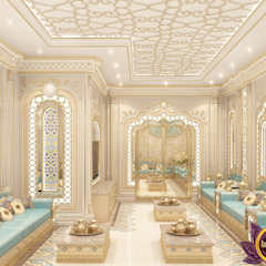 The charm of the oriental style interiors Katrina Antonovich by Luxury Antonovich Design Asian