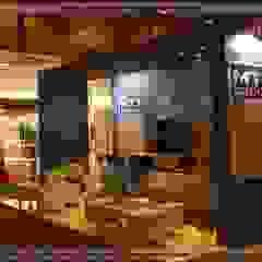 SERPİCİ's Mimarlık ve İç Mimarlık Architecture and INTERIOR DESIGN Modern event venues Wood Blue
