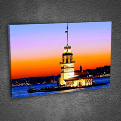 Kız Kulesi - İstanbul Tabloda Walls & flooringWall & floor coverings