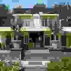 verbouwing woonhuis Lijnden Rustieke balkons, veranda's en terrassen van Studio Kuin BNI Rustiek & Brocante