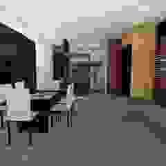 Casa Los Cerros Comedores de estilo moderno de ARQUITECTO JUAN ANDRES GUTIERREZ PEREZ Moderno