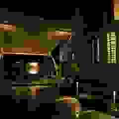 Residence of Mr.agaraj Modern garage/shed by Hasta architects Modern