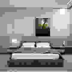 DUPLEX | JOÃO MONLEVADE - MG Quartos minimalistas por RAFE Arquitetura e Design Minimalista Concreto