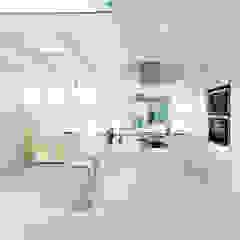 Planungsbüro für Innenarchitektur Cocinas de estilo moderno Blanco
