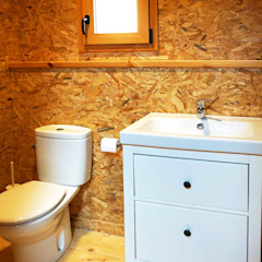 Endüstriyel Banyo RIBA MASSANELL S.L. Endüstriyel Ahşap Ahşap rengi