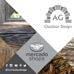 rustic  by AG Outdoor Design, Rustic