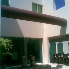 by SG Huerta Arquitecto Cancun Tropical Limestone