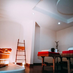 de Glam interior- architect co.,ltd Asiático Bambú Verde