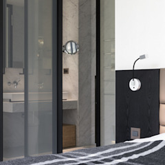 Baños de estilo moderno de 直譯空間設計有限公司 Moderno
