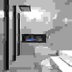 Baños de estilo moderno de 直譯空間設計有限公司 Moderno Hierro/Acero