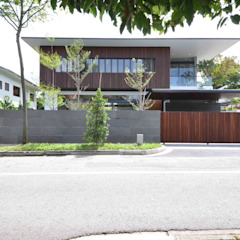 Sunset House Tropical style houses by ming architects Tropical