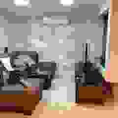 Samira Prado Moda Casa Living roomAccessories & decoration Kertas Grey