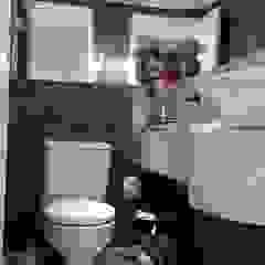 Samira Prado Moda Casa BathroomFittings Kertas Black