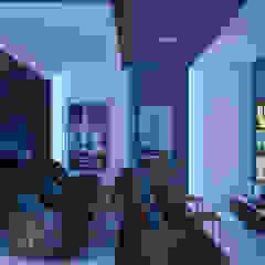 minimalist style media rooms by m.frahat Minimalist