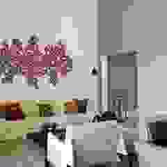 Camila Giongo Arquitetas Associadas - Decoração de Interiores ME Salas de estilo moderno Piedra Gris