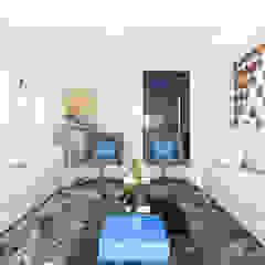 Camila Giongo Arquitetas Associadas - Decoração de Interiores ME Salas de estilo moderno Cerámico Blanco