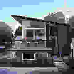 Watervilla's in Dorpshaven, Aalsmeer Scandinavische balkons, veranda's en terrassen van agNOVA architecten Scandinavisch