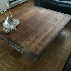 WE-Maatdesign Living roomSofas & armchairs Wood Wood effect