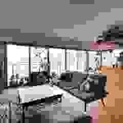 by ALTS DESIGN OFFICE Rustic لکڑی Wood effect